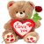Grote knuffel i love you hart